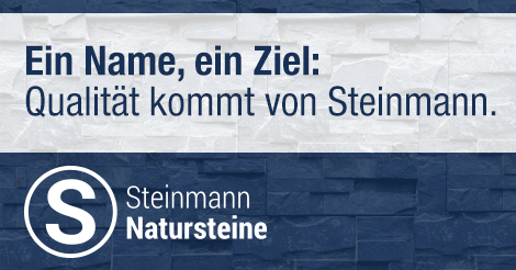 Natural stone Steinmann - Quality - Services - Competence!